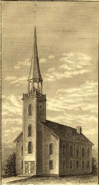Waterbury's Episcopal Church, 1795